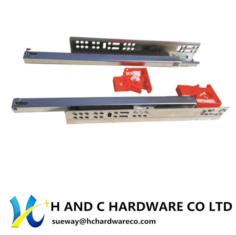 K2002 Push open , Single Extension Concealed Undermount Slide