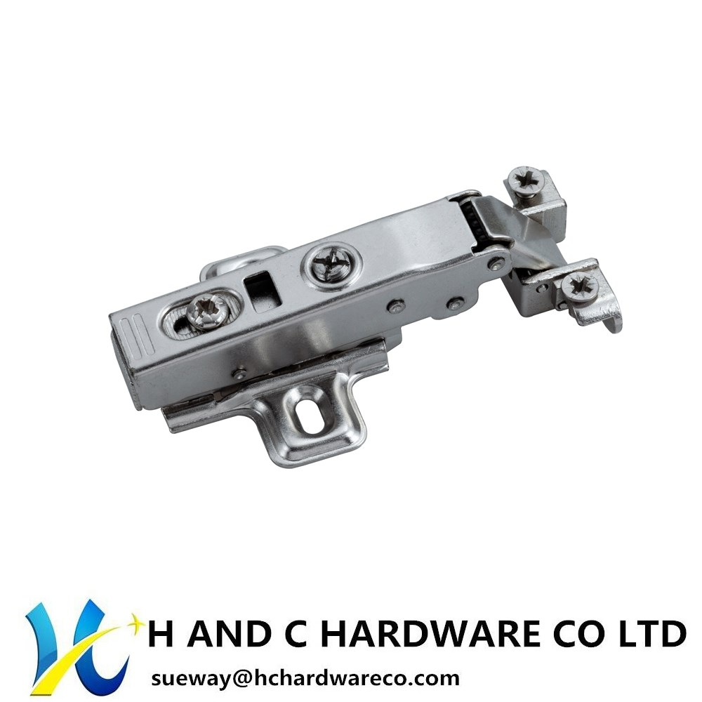 Aluminum Doorframe Hinge, Soft Close (Clip on)