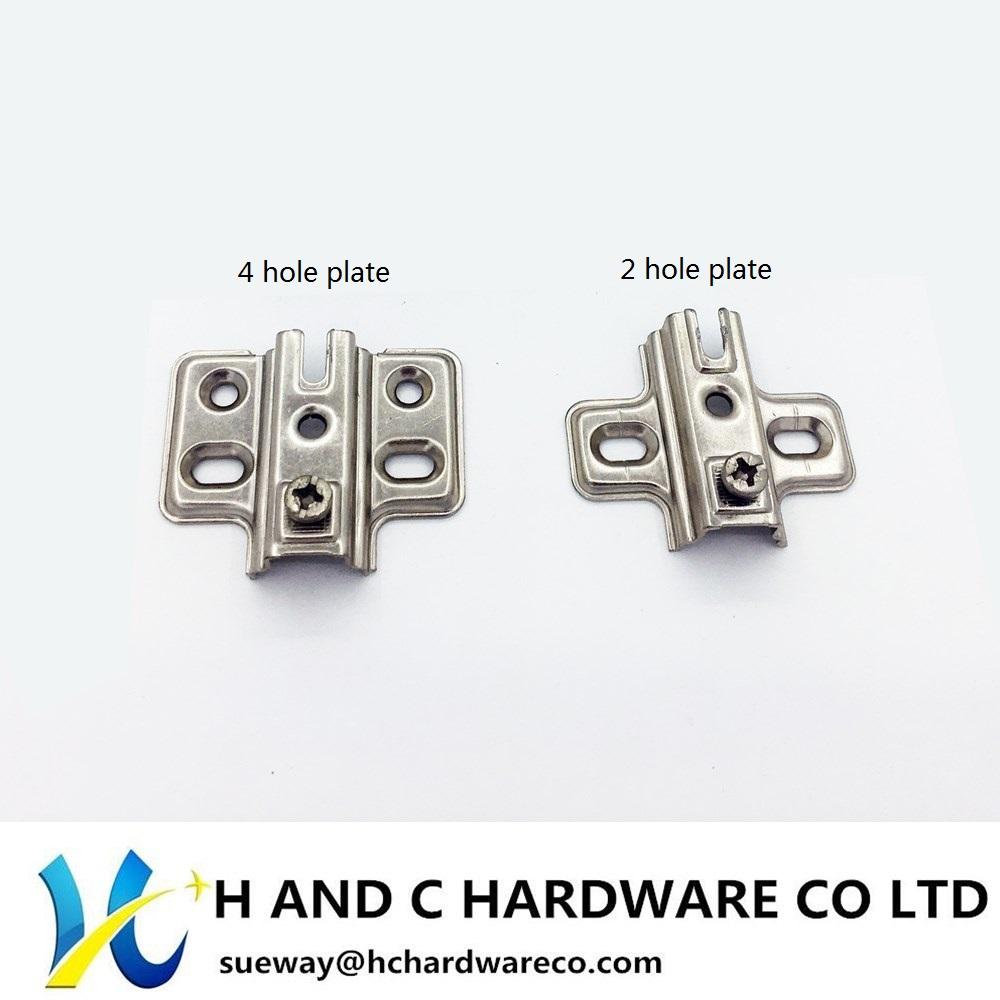 Aluminum Doorframe Hinge, Slide on