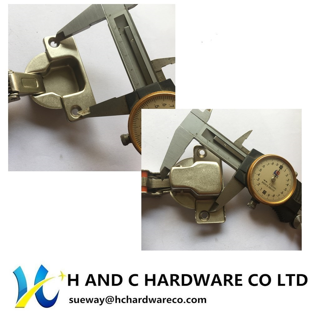 40MM Cup Hydraulic hinge, clip on