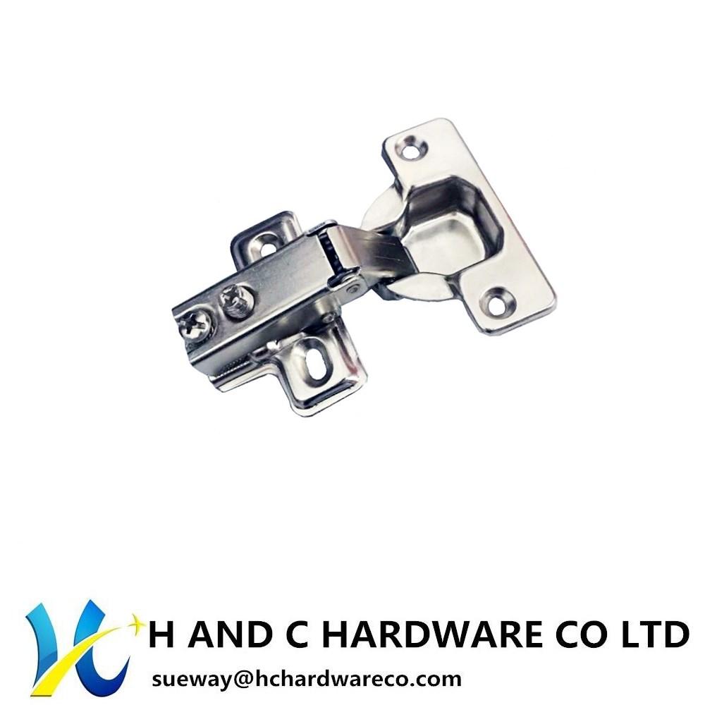 Short arm hinge , slide on , two way