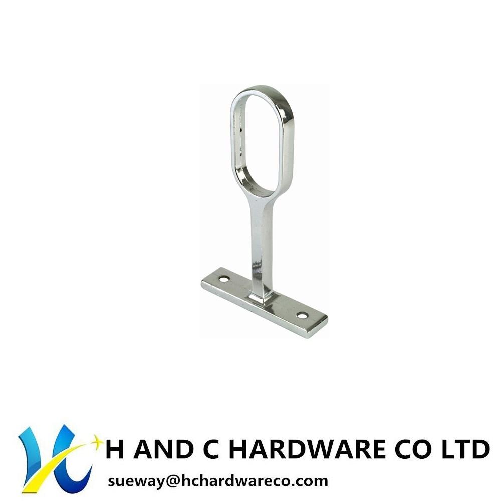 Oval tube middle hanging socket