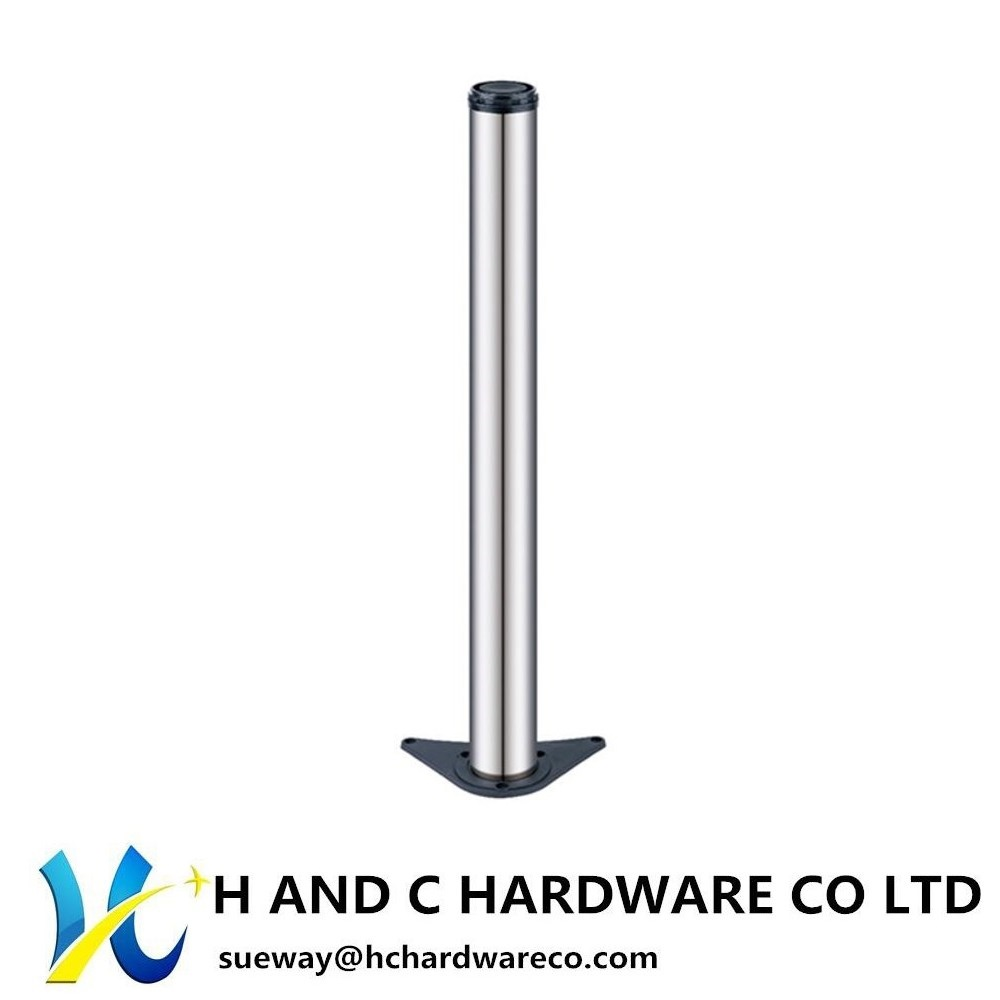 Table Leg with Alloy Plate