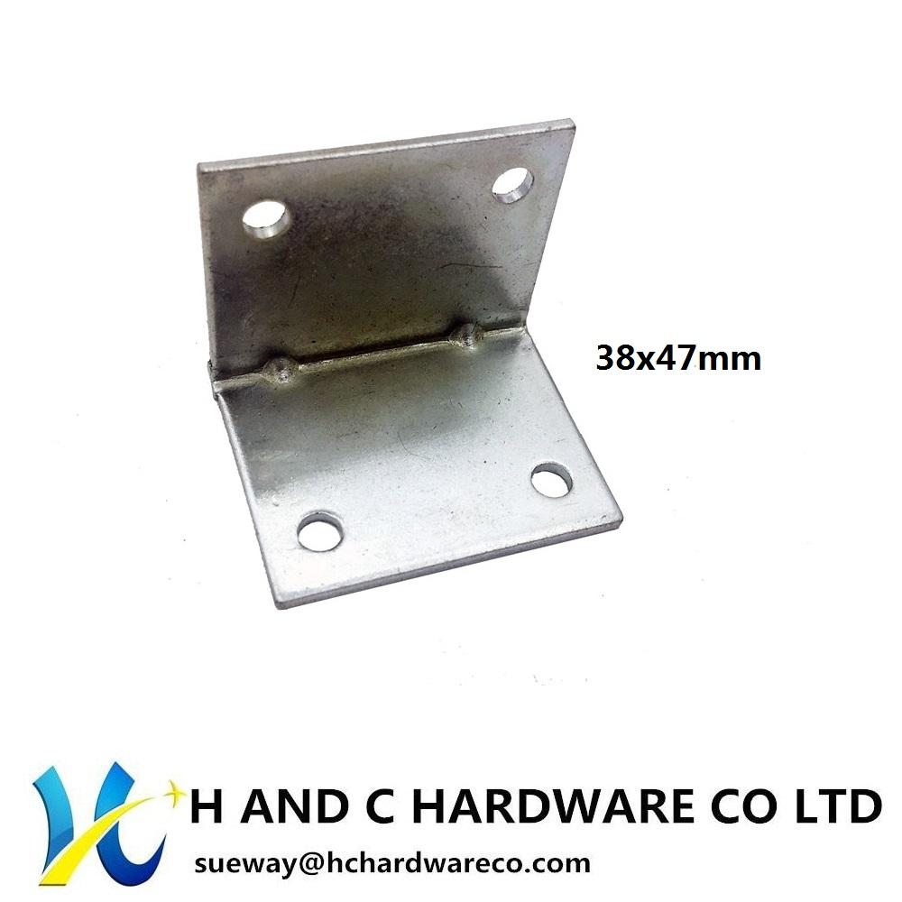 Steel corner 38x47mm
